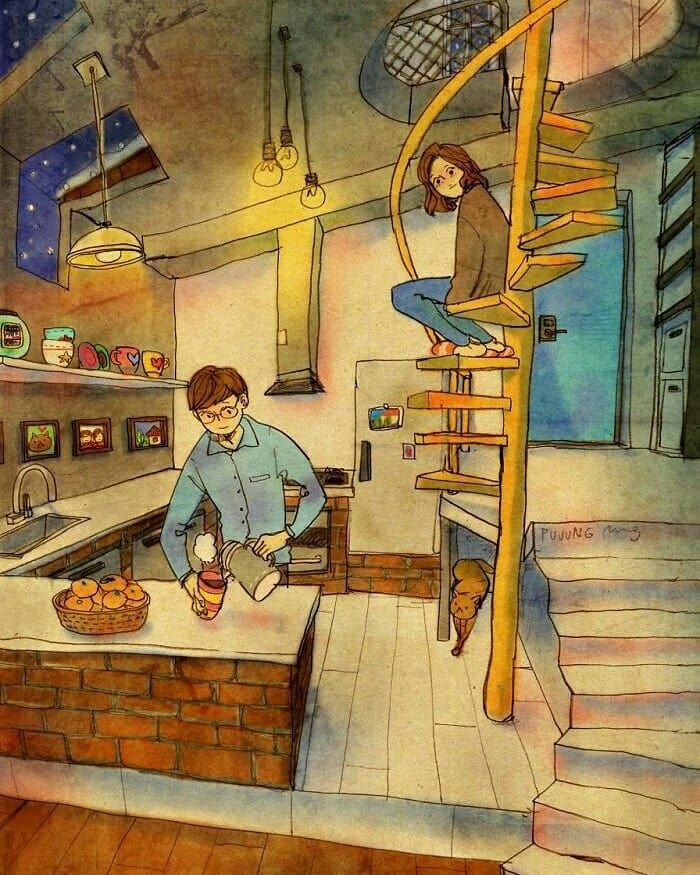 #instaart #creative #sketch #drawings #artist #drawing #artstagram #sketchbook #beautiful #art_we_inspire #paintings #paintmixing #artwork #drawn #sketch_daily #painting #galleryart #paint #artistic_share #color #illustrator #art #draw #artlovers #painter #painted #disegno #illusration #loveyou #couples