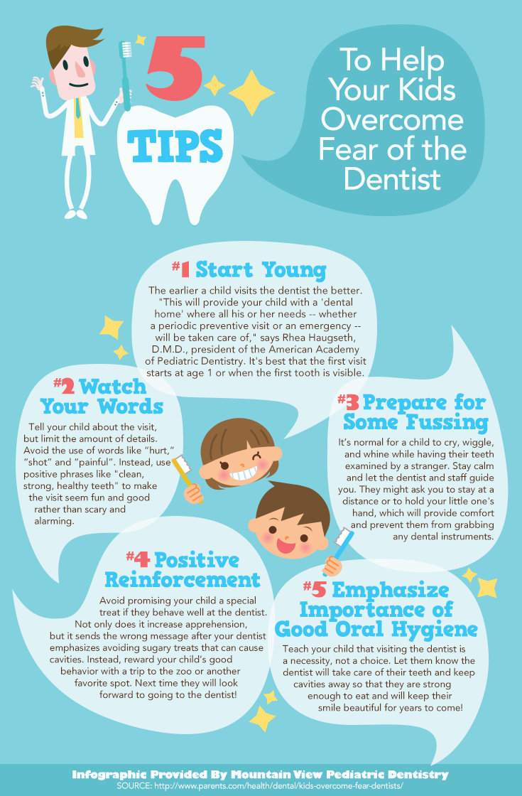 5 Tips to Help Your Kids Overcome Fear of the Dentist