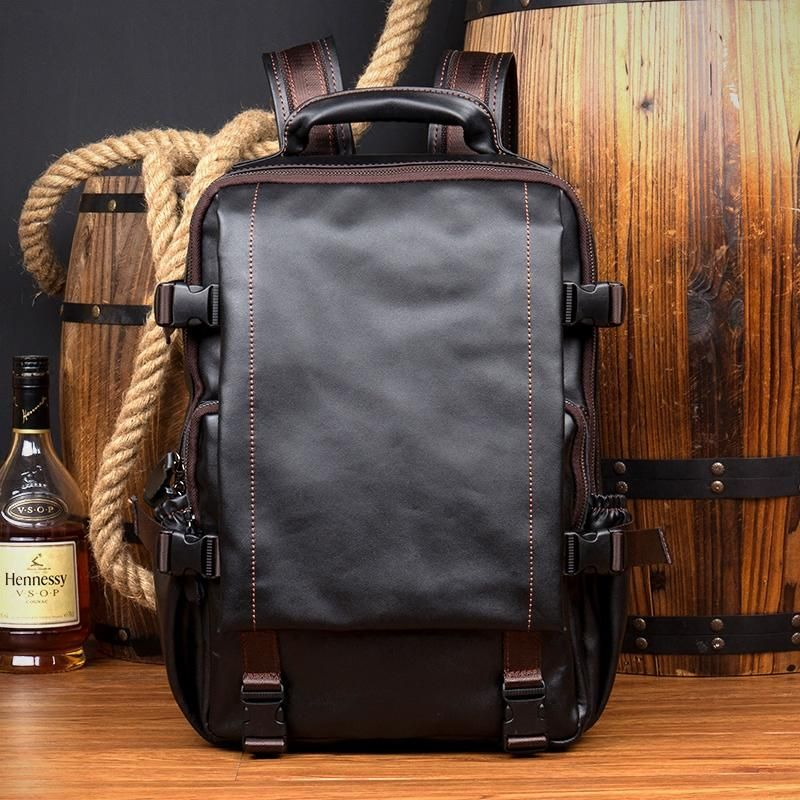 206a2f9802 Leather Backpack
