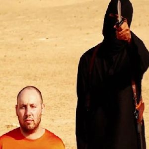 """President Barack Obama on Wednesday confirmed the authenticity of a video showing the beheading of Steven Sotloff, the second American journalist executed in two weeks by Islamic militants in response to U.S. airstrikes against its fighters in northern Iraq. """"Overnight, our government determined that tragically Steven was taken from us in a horrific act of …"""
