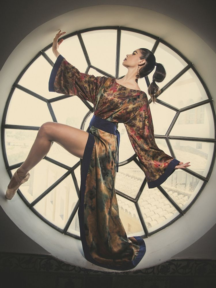 Fashion Editorial: Oriental Sights #orient #stylism #design