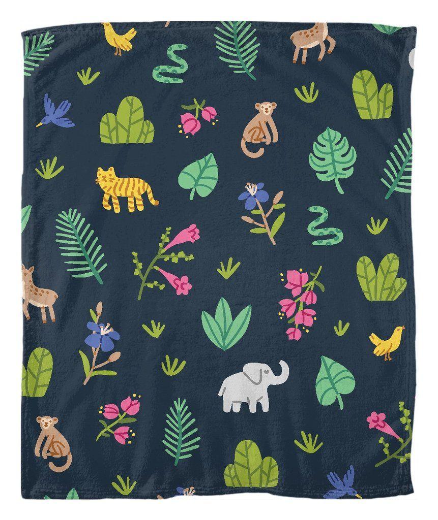 Safari fleece blanket wrap up in one of our fun fleece blankets the