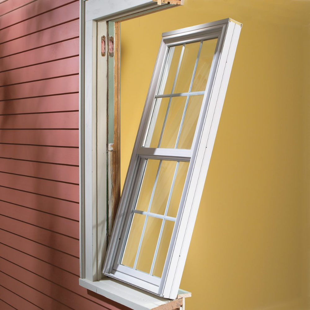 How To Install Vinyl Replacement Windows Vinyl Replacement Windows Diy Window Replacement Window Replacement