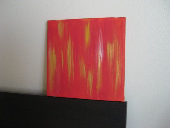 Original Abstract Painting  8x8 Acrylic on Canvas by ProjectSoiree, $35.00