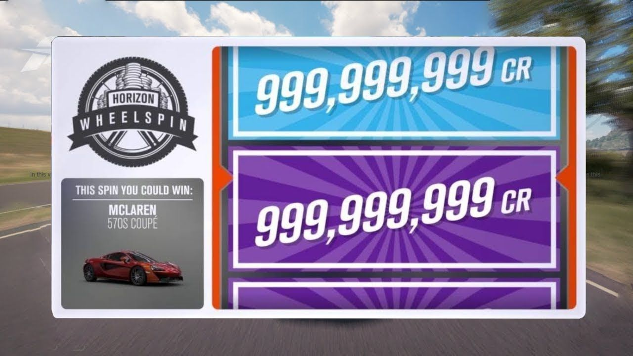 FORZA HORIZON 3 XP AND MONEY GLITCH!!!! UNLIMITED WHEELSPINS