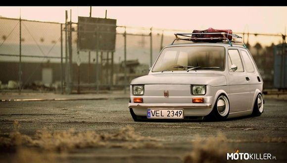 Fiat 126P Nowy German Style Tuning