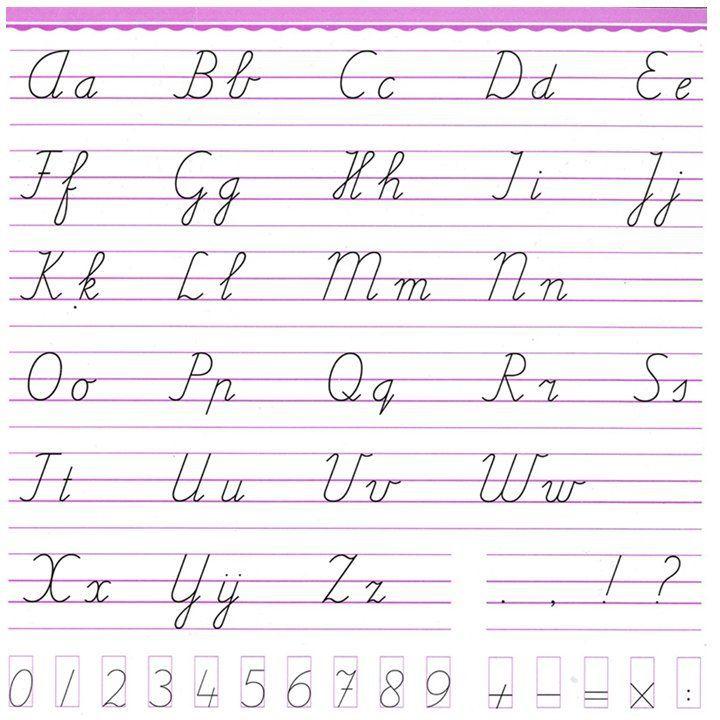 Letterkaart Pennenstreken | Schrijflessen, Handschrift oefenen ...