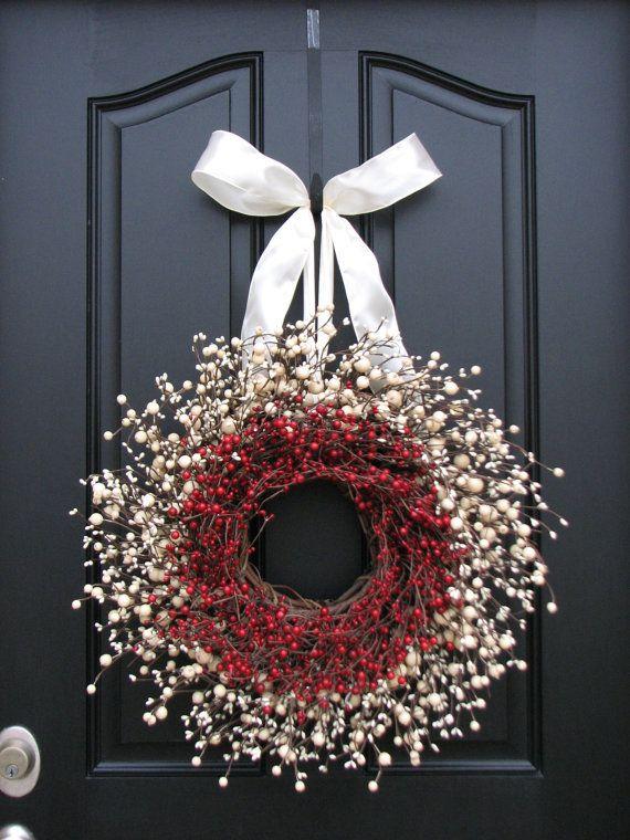 Photo of Winter Wreath Inspiration Board