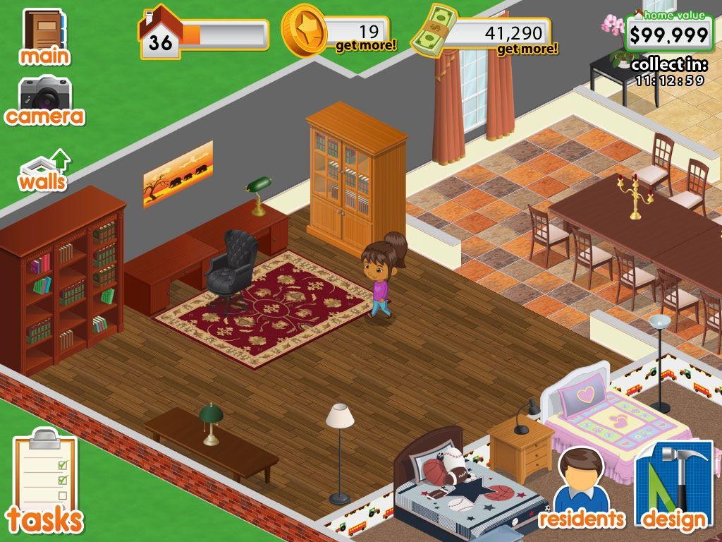 Design this Home now on PC  House decorating games, Design home