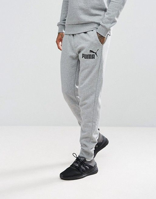 Independent Puma Power Rebel Mens Joggers Grey Sweatpants Gym Training Trousers 2019 Official Fitness, Running & Yoga