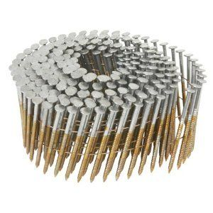 4500 Count 2 1 2 X 099 Hitachi 12218 Screw Shank Bright Coil Framing Sheathing Nails Check Out The Image By Visit Framing Nails Roofing Nails Air Tools