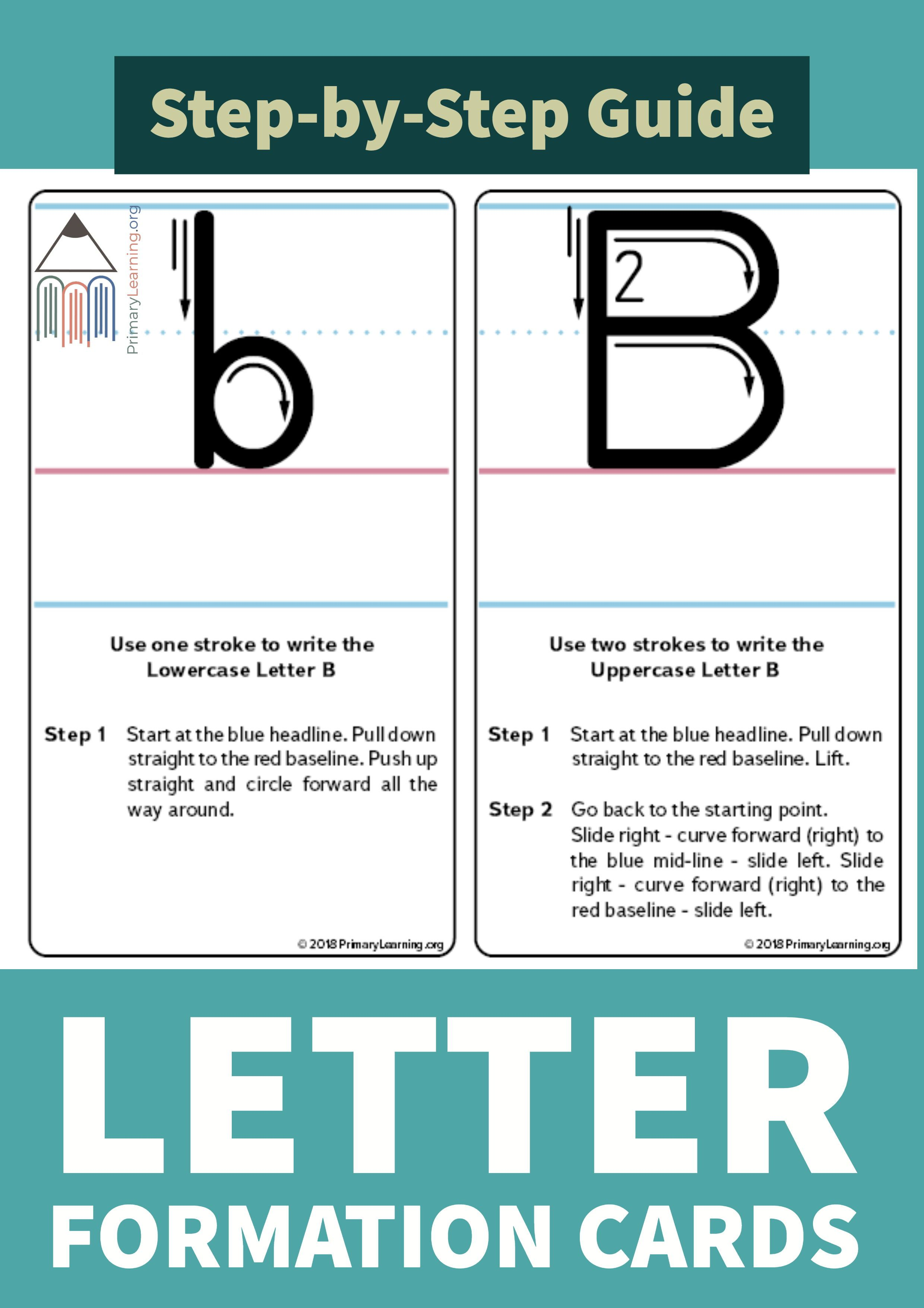 How To Write The Letter B