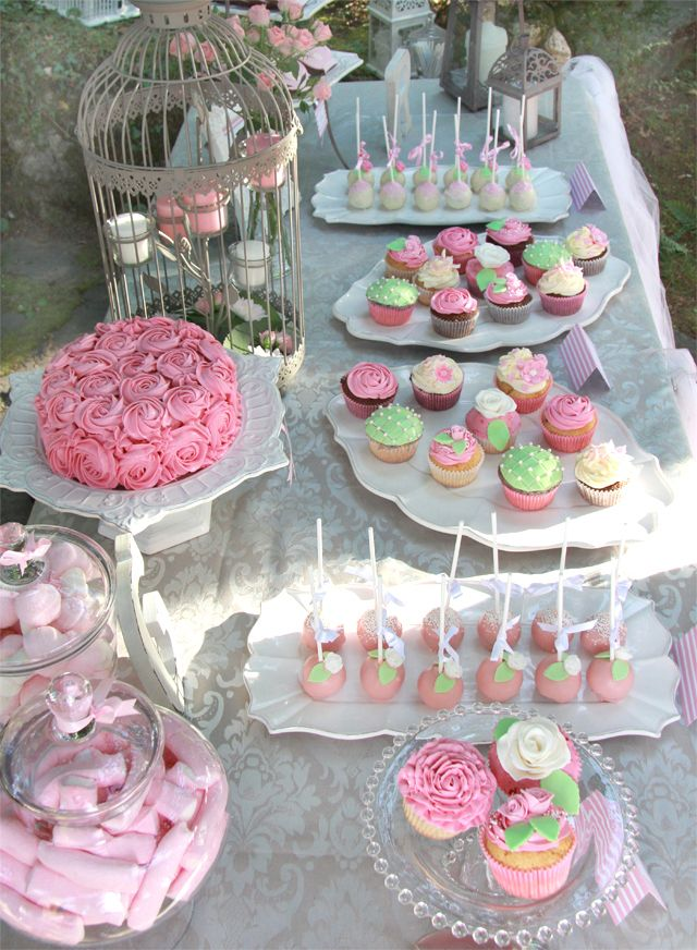 Mesa Dulce Gemma Y Raul Tea Party Candy Buffet Candy Table