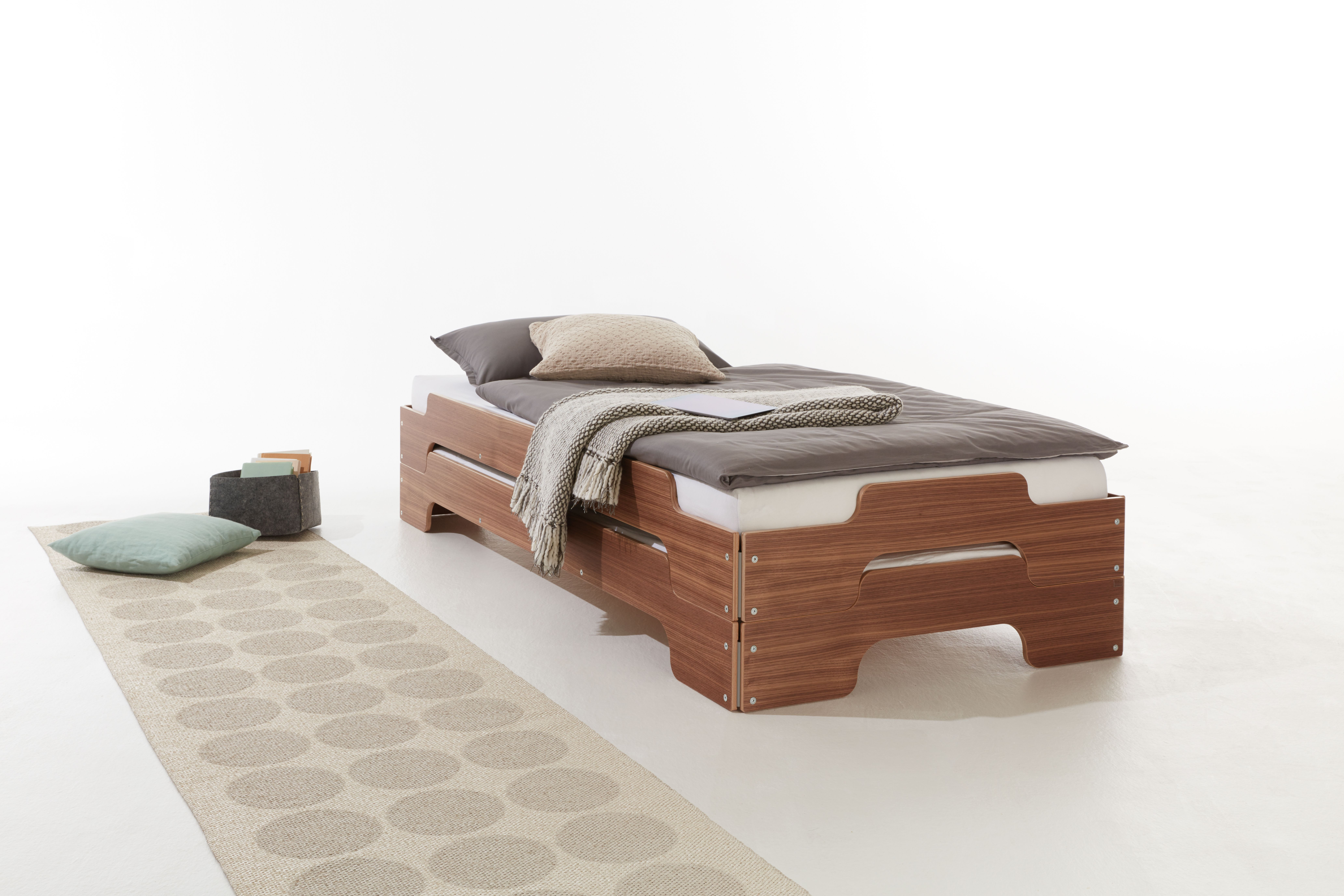 Modern Stacking Bed in 2020 Bed, Furniture for small