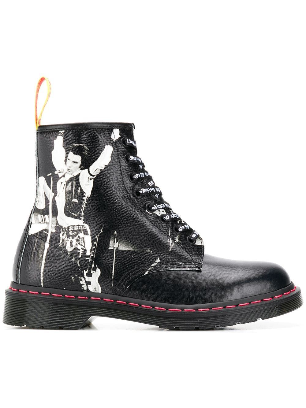 Dr Martens Saffiano Ankle Boots Boots Black Ankle Boots Ankle Boots