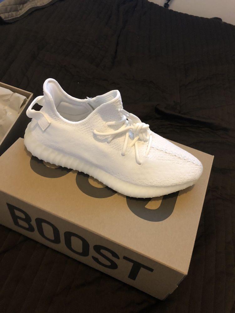 e93edc5523ffa adidas Yeezy Boost 350 V2 Cream CP9366 #fashion #clothing #shoes ...