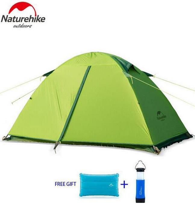 NatureHike 1-2 Person Tent Waterproof tents Double Layer Outdoor C&ing Hike Travel Tent Ultralight  sc 1 st  Pinterest & NatureHike 1-2 Person Tent Waterproof tents Double Layer Outdoor ...