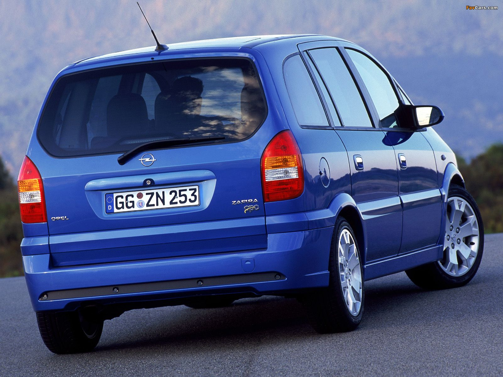 Pictures Of Opel Zafira Opc A 2001 05 Concept Cars Hd Wallpaper Car Tuning