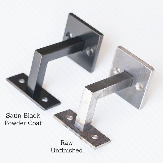 Best Minimal Handrail Bracket 1 2 Solid Steel Square Bar 400 x 300