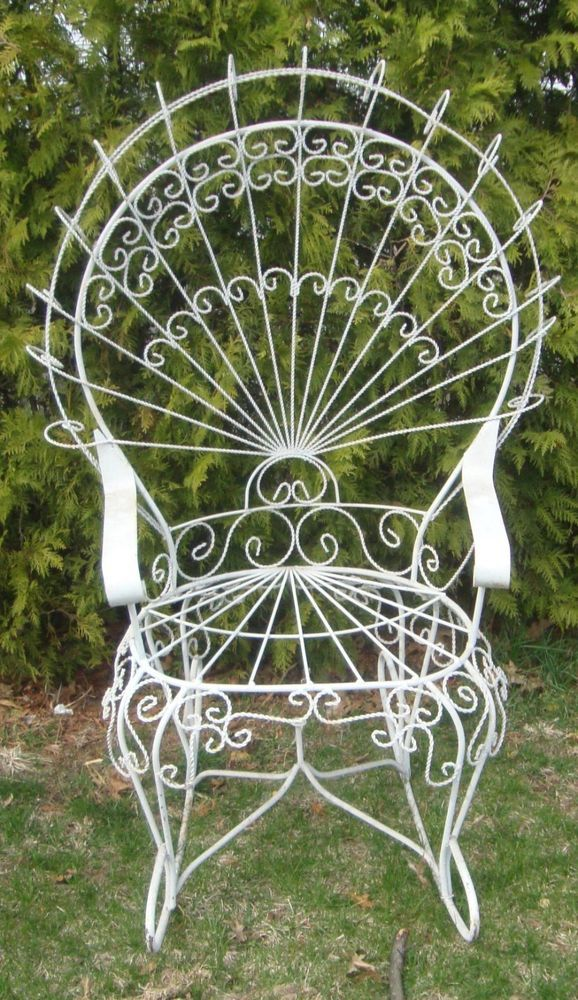 Wrought Iron Finishing With Images Metal Patio Furniture Iron