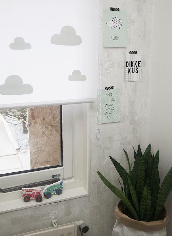 DIY: pimp je rolgordijnen - Rolgordijnen, Raamdecoratie en Gordijnen
