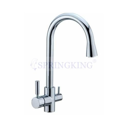 Attirant Three Way Kitchen Faucet Kitchen Tap,Ro System,Pure Water Tap,Kitchen Taps