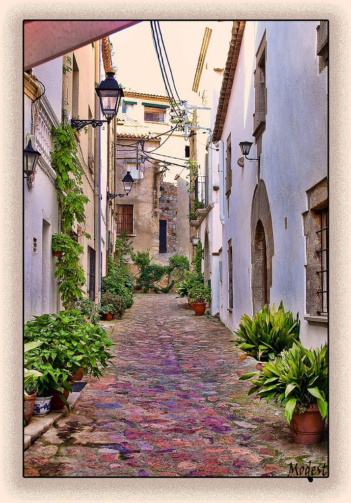 Calle De Tossa De Mar In 2019 Future Travel Spain Barcelona