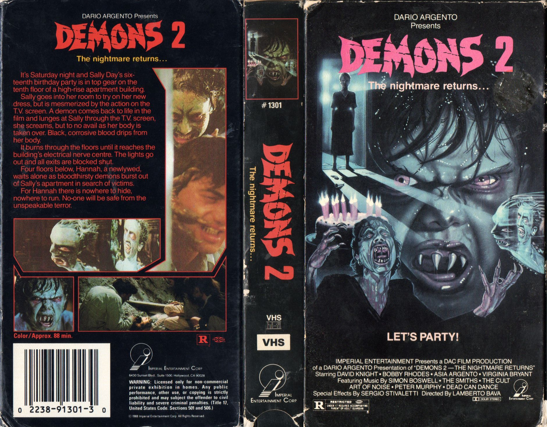 DEMONS-2.jpg (Imagen JPEG, 1881 × 1471 pixels) | MUNDO VHS ...