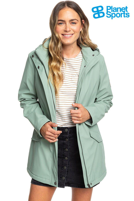 Roxy Downtown Callin in 2020   Regenjacke, Damen regenmäntel