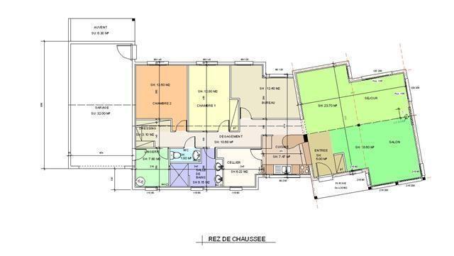 Délicieux Plan Construction Garage Gratuit Plans De Rdc Uodele - Plan garage bois gratuit