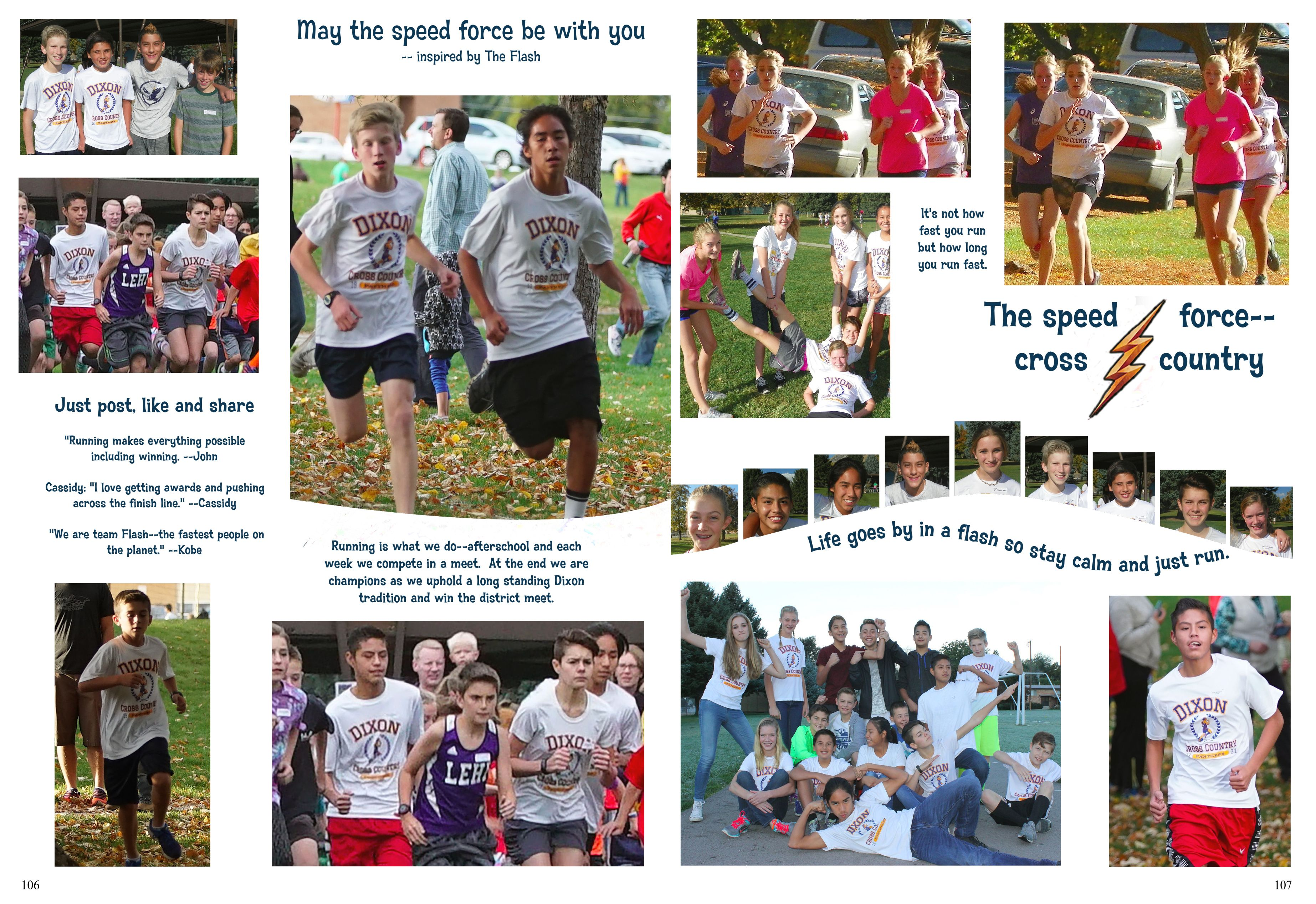 Fullsize Of Yearbook Page Ideas