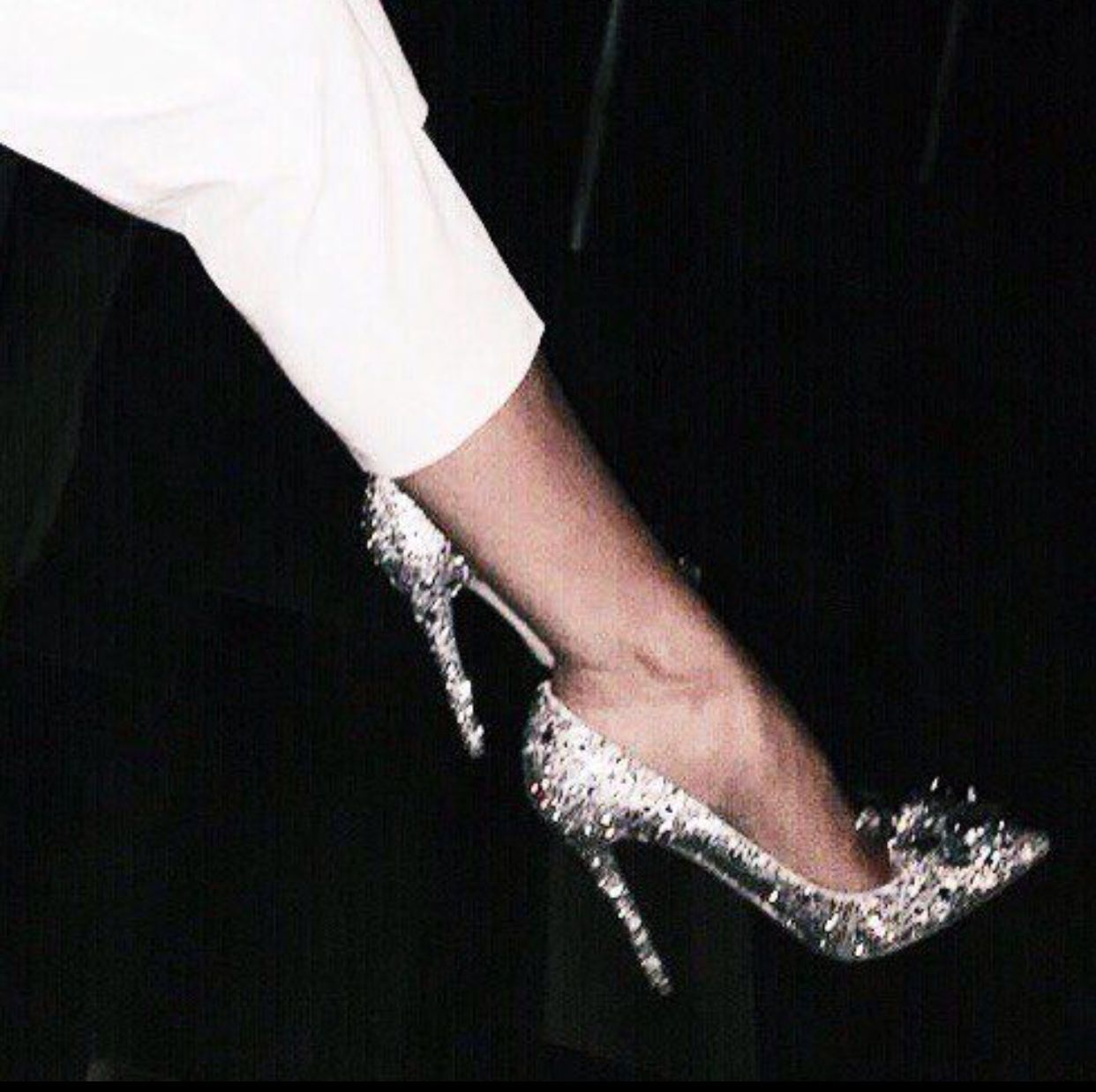 Glitter bridesmaid shoes! (With images) | Glitter