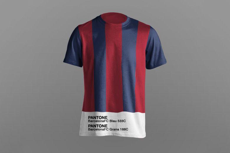 Paulo Oliveira 打造 Pantone 版足球衫