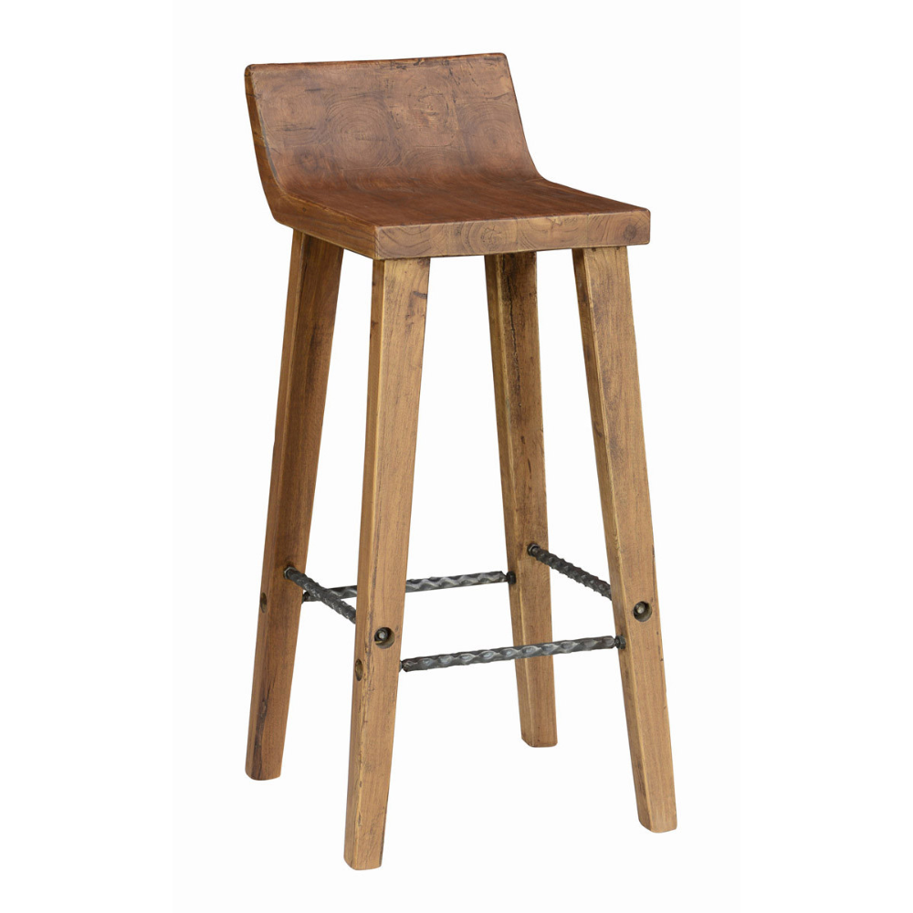 Arturo Low Back Bar Stool Desert Modern Lifestyles