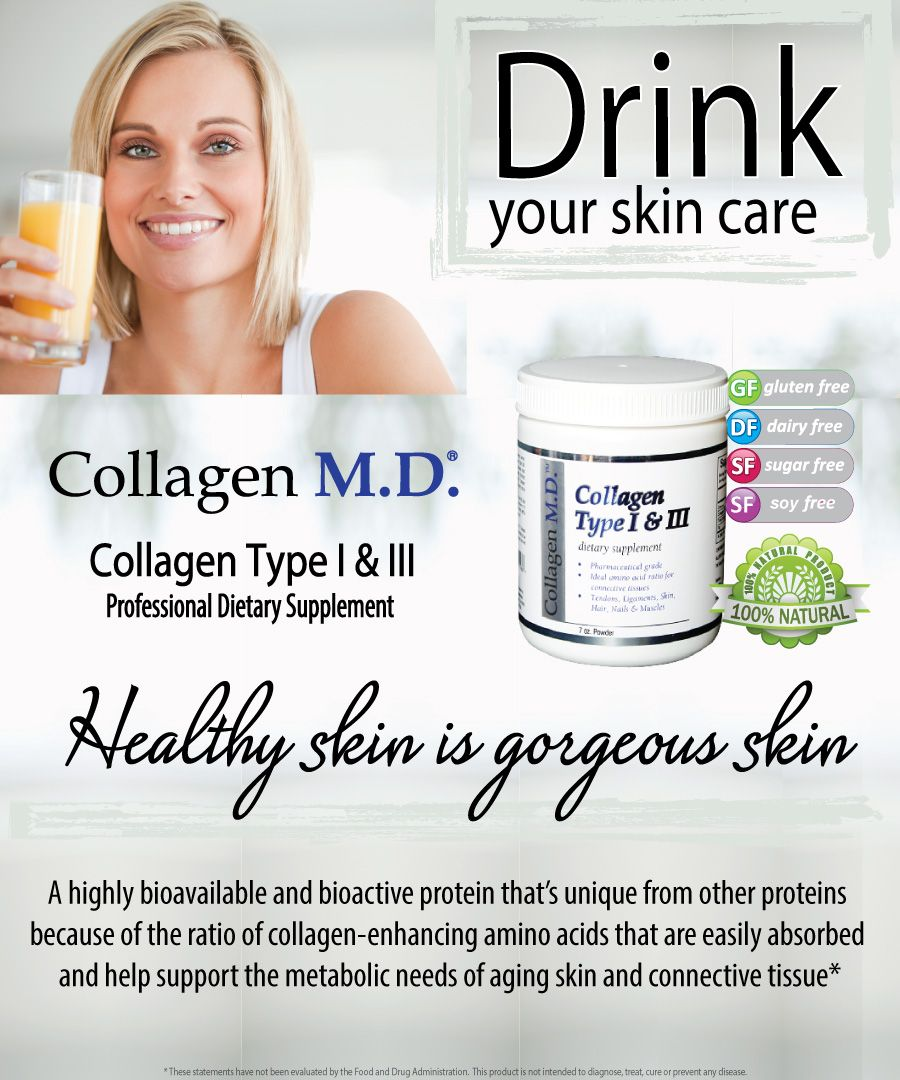 Collagen md professional dietary supplements drink
