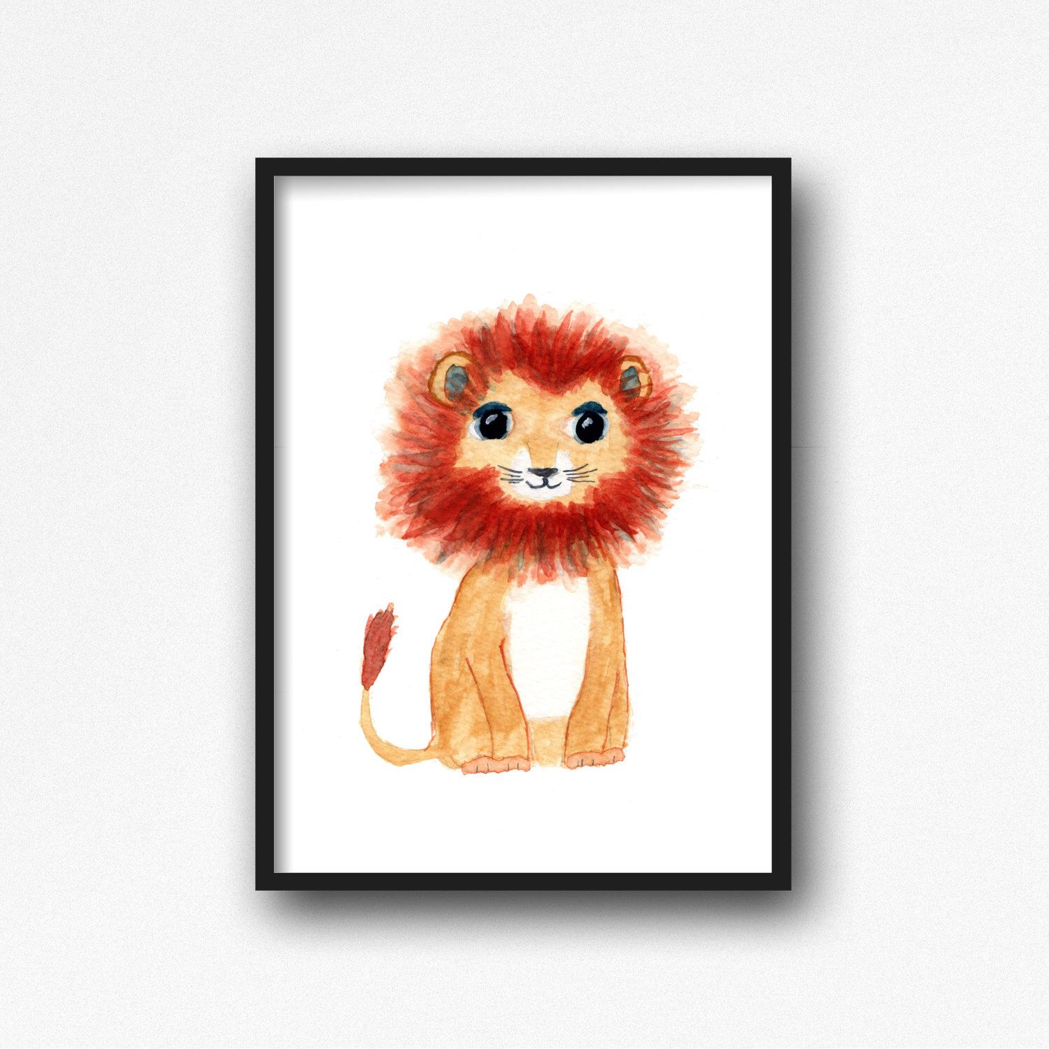 Nursery Decor Lion From My Etsy Https Www