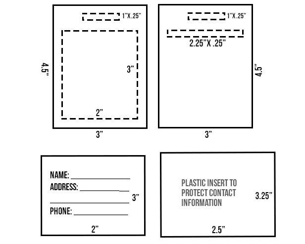 diy school backpack id template buscar con google back to school diy ideas pinterest. Black Bedroom Furniture Sets. Home Design Ideas
