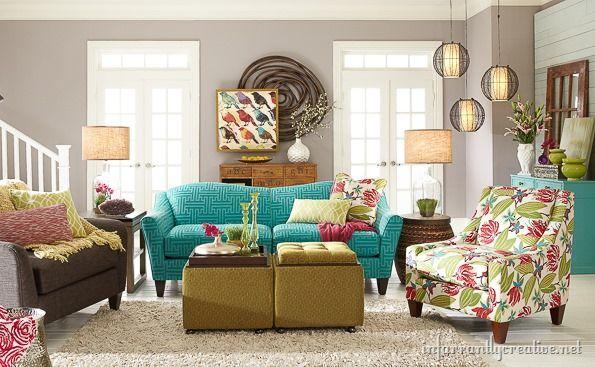 La Z Boy Design Dash Event Part 2 Room Reveal Living Room