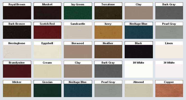 Mastic vinyl siding color chart click on the image to enlarge it let your up and above contractors also rh pinterest
