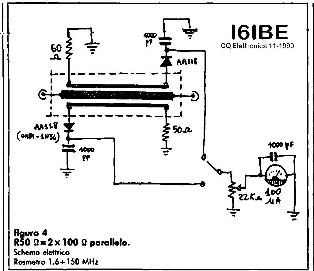 Schemi Elettrici Radio : Rosmetro wattmetro dummyload i6ibe ivo electro pinterest ham radio