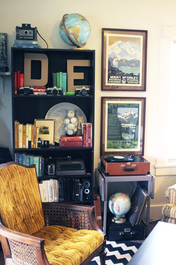 Delightfully Tacky Living Room