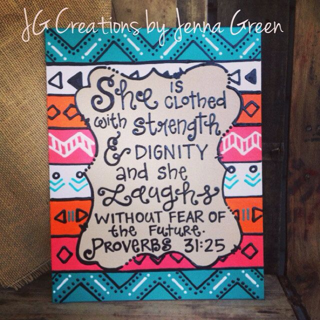 Canvas Painting Ideas With Bible Verses