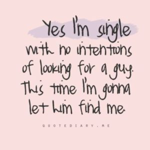 50 Being Single Quotes
