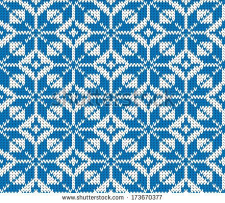 seamless vector knitted background | Knitting | Pinterest | Tejido