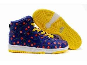 buy popular e2dd1 1b78f germany nike sb dunk high womens purple yellow 6eab0 e35c2