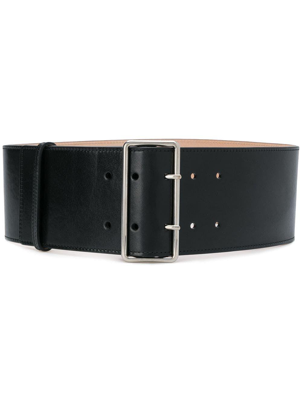cf23b2d78d Alexander McQueen wide waist belt - Black | Products in 2019 ...
