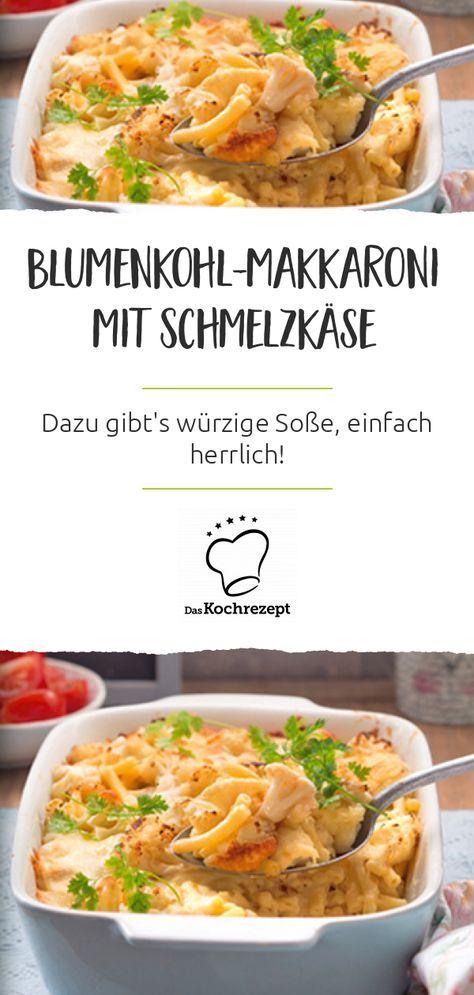 Blumenkohl-Makkaroni