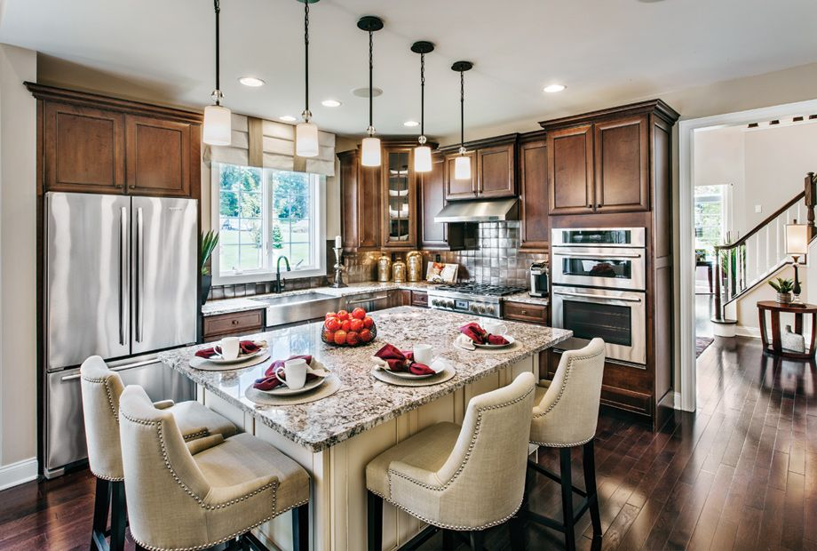 Actual Photo Of The Bucknell Model Kitchen Kitchen Area Classy New Model Kitchen Design 2018