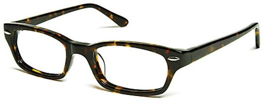 Tortoise & Blonde Melrose Square Men's Eyeglasses | Melrose Square Women's Eye Glasses