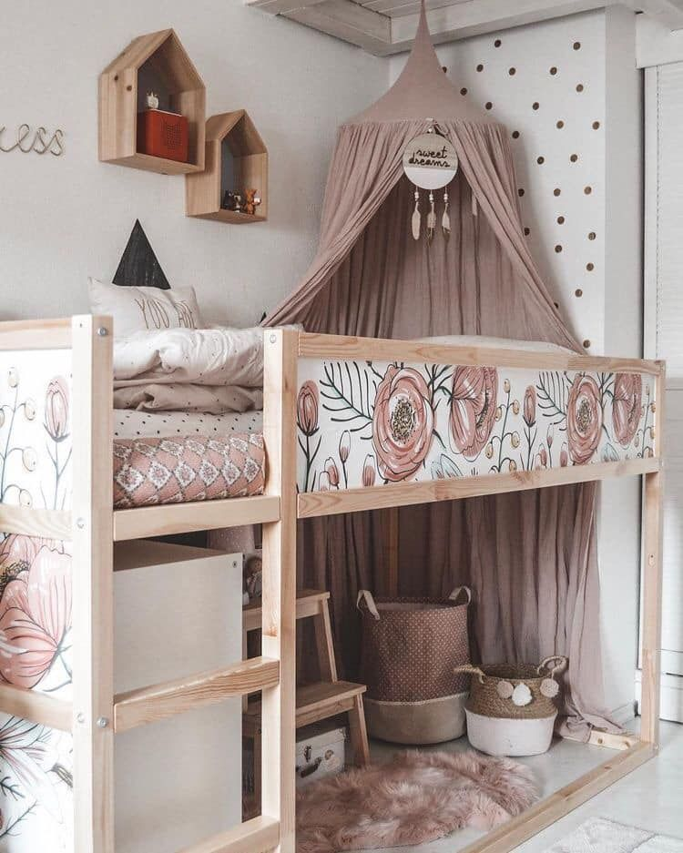Photo of Girly IKEA KURA hack